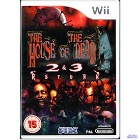 HOUSE OF THE DEAD 2 & 3 RETURN WII