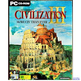 SID MEIERS CIVILIZATION III PC BIGBOX