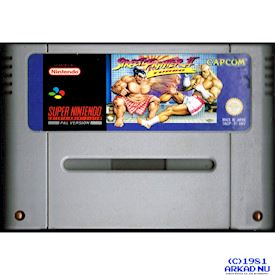 STREET FIGHTER II TURBO SNES