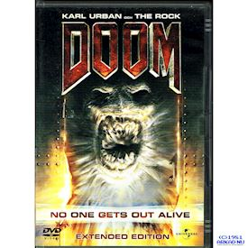 DOOM EXTENDED VERSION DVD