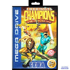 ETERNAL CHAMPIONS SPECIAL COLLECTORS EDITION MEGADRIVE