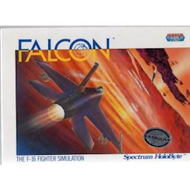 FALCON THE F-16 FIGHTER SIMULATION AMIGA