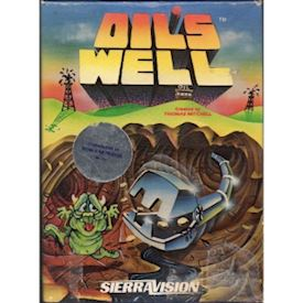 OILS WELL C64 Cartridge NYTT