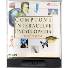 COMPTON INTERACTIVE ENCYCLOPEDIA CD-I