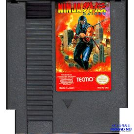 NINJA GAIDEN NES REV-A (SHADOW WARRIOR)