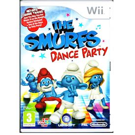 THE SMURFS DANCE PARTY WII