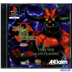 ADVANCED DUNGEONS & DRAGONS IRON & BLOOD WARRIORS OF RAVENLOFT PS1