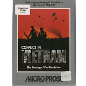 CONFLICT IN VIETNAM C64 TAPE
