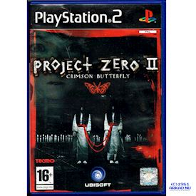 PROJECT ZERO II CRIMSON BUTTERFLY PS2