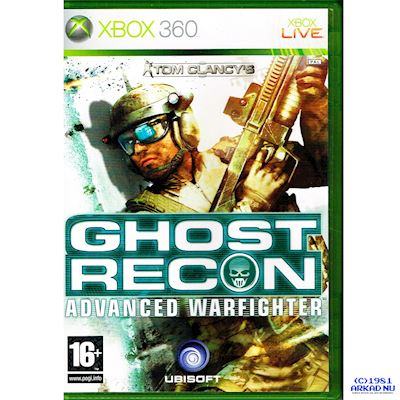 TOM CLANCYS GHOST RECON ADVANCED WARFIGHTER XBOX 360