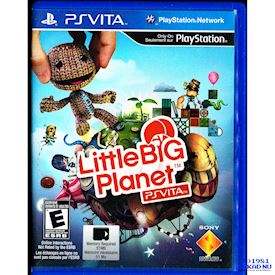 LITTLE BIG PLANET PS VITA