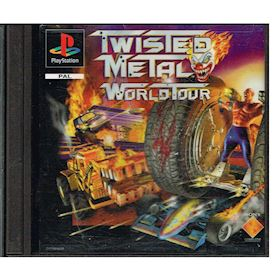 TWISTED METAL WORLD TOUR PS1