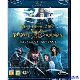 PIRATES OF THE CARIBBEAN 5 SALAZARS REVENGE BLU-RAY