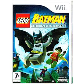 LEGO BATMAN THE VIDEOGAME WII