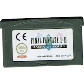 FINAL FANTASY I & II DAWN OF SOULS GBA