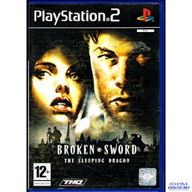 BROKEN SWORD THE SLEEPING DRAGON PS2