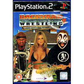 BACKYARD WRESTLING 2 THERE GOES THE NEIGHBORHOOD PS2