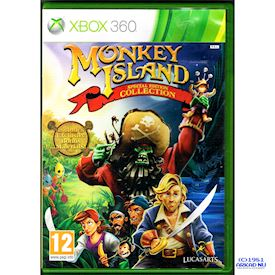 MONKEY ISLAND SPECIAL EDITION COLLECTION XBOX 360