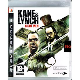 KANE & LYNCH DEAD MEN PS3