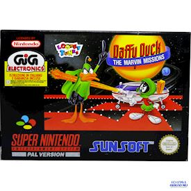DAFFY DUCK THE MARVIN MISSIONS SNES