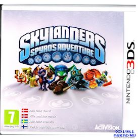 SKYLANDERS SPYROS ADVENTURE 3DS