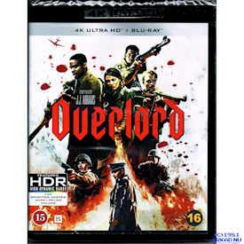 OVERLORD 4K ULTRA HD + BLU-RAY