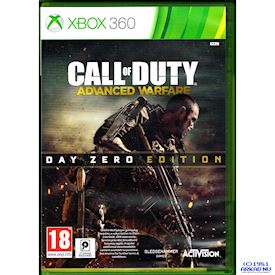 CALL OF DUTY ADVANCED WARFARE DAY ZERO EDITION XBOX 360