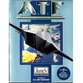 ATF ADVANCED TACTICAL FIGHTER PC BIGBOX