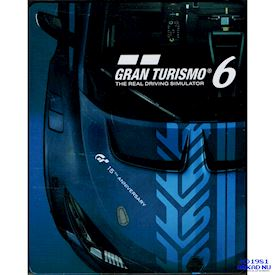 GRAN TURISMO 6 ANNIVERSARY EDITION STEEL BOOK PS3