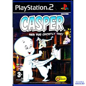 CASPER AND THE GHOSTLY TRIO PS2