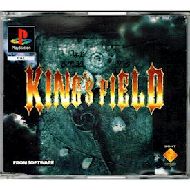 KINGS FIELD PROMO PS1
