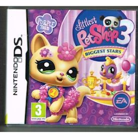 LITTLEST PET SHOP 3 BIGGEST STARS PURPLE TEAM DS