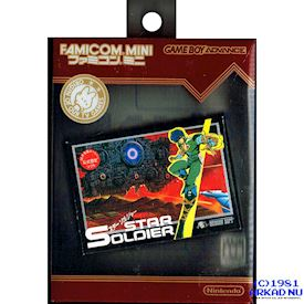 FAMICOM MINI SERIES VOL 10 STAR SOLDIER GBA JAPANSK