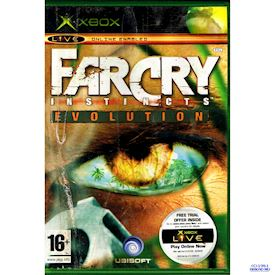 FARCRY INSTINCTS EVOLUTION XBOX