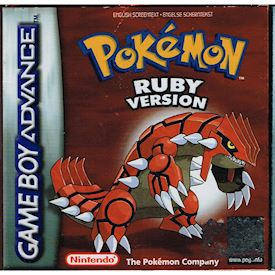 POKEMON RUBY VERSION GBA