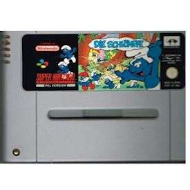 THE SMURFS (DIE SCHLUMPE) SNES