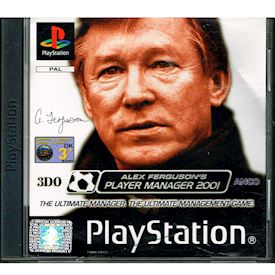 ALEX FERGUSONS PLAYER MANAGER 2001 PS1