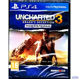 UNCHARTED 3 DRAKES DECEPTION REMASTERED PS4
