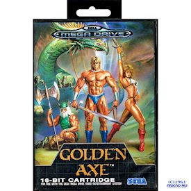 GOLDEN AXE MEGADRIVE