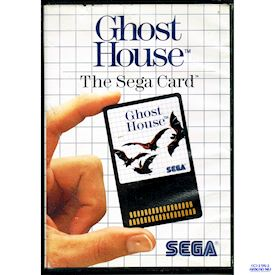 GHOST HOUSE SEGA CARD MASTERSYSTEM
