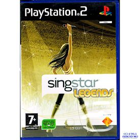 SINGSTAR LEGENDS PS2