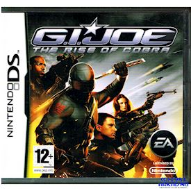 GI JOE THE RISE OF COBRA DS