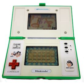 BOMB SWEEPER GAME & WATCH