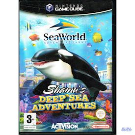 SEAWORLD ADVENTURE PARKS SHAMUS DEEP SEA ADVENTURE GAMECUBE