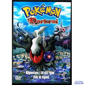 POKEMON DARKRAI SLÅR TILL DVD