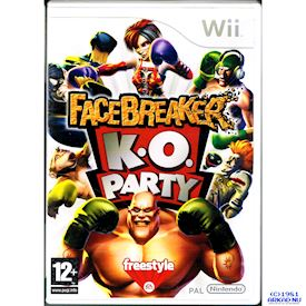 FACEBREAKERS KO PARTY WII