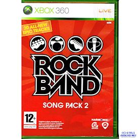 ROCK BAND SONG PACK 2 XBOX 360
