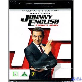 JOHNNY ENGLISH STRIKES AGAIN 4K ULTRA HD + BLU-RAY