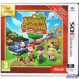 ANIMAL CROSSING NEW LEAF WELCOME AMIBO 3DS
