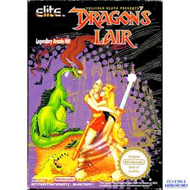 DRAGONS LAIR NES SCN